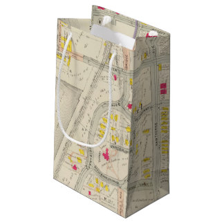 Yonkers Map Atlas Small Gift Bag