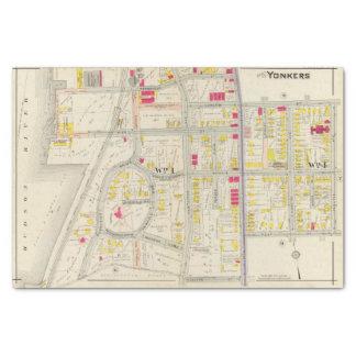 Yonkers Map Atlas Tissue Paper