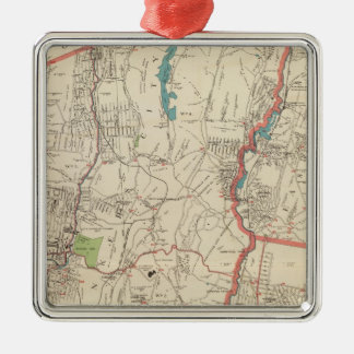 Yonkers, Mt Vernon, Eastchester towns Christmas Ornament