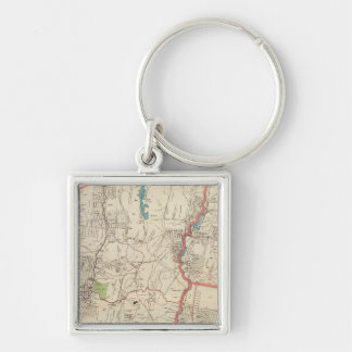 Yonkers, Mt Vernon, Eastchester towns Key Ring