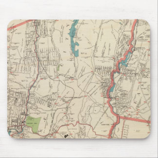 Yonkers, Mt Vernon, Eastchester towns Mouse Mat