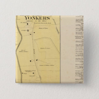 Yonkers N pt 15 Cm Square Badge