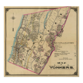 Yonkers, New York 11 Poster