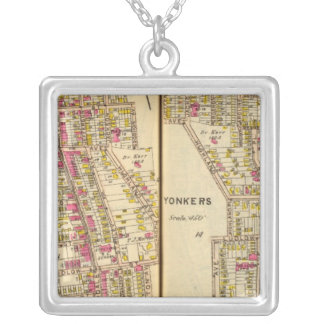 Yonkers, New York 11 Silver Plated Necklace