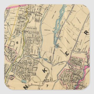 Yonkers, New York 11 Square Sticker