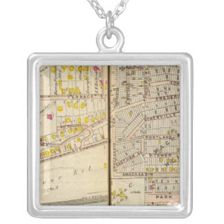 Yonkers, New York 12 Silver Plated Necklace