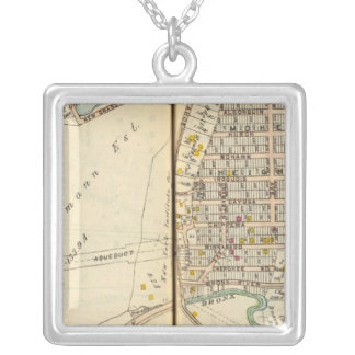 Yonkers, New York 13 Silver Plated Necklace