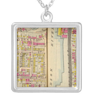 Yonkers, New York 14 Silver Plated Necklace