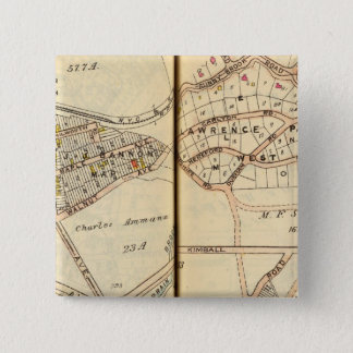 Yonkers, New York 15 Cm Square Badge