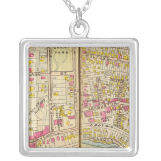 Yonkers, New York 15 Silver Plated Necklace