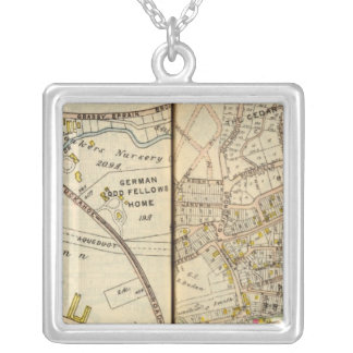 Yonkers, New York 16 Silver Plated Necklace