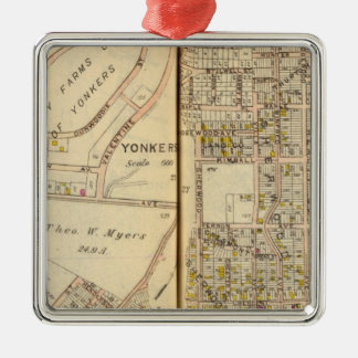 Yonkers, New York 17 Christmas Ornament