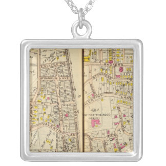 Yonkers, New York 18 Silver Plated Necklace