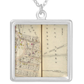 Yonkers, New York 19 Silver Plated Necklace