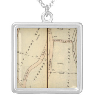 Yonkers, New York 21 Silver Plated Necklace