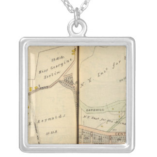 Yonkers, New York 2 Silver Plated Necklace