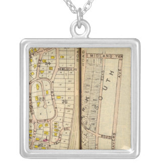 Yonkers, New York 3 Silver Plated Necklace