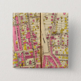 Yonkers, New York 4 15 Cm Square Badge