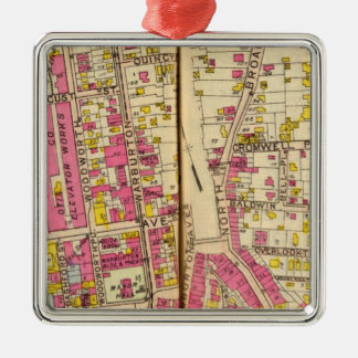 Yonkers, New York 4 Christmas Ornament