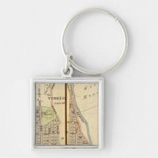 Yonkers, New York 4 Key Ring