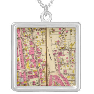 Yonkers, New York 4 Silver Plated Necklace