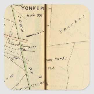 Yonkers, New York 5 Square Sticker