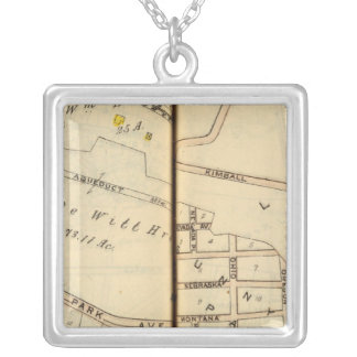 Yonkers, New York 6 Silver Plated Necklace