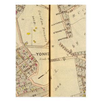 Yonkers, New York 7 Postcard
