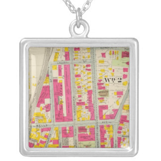 Yonkers, New York 7 Silver Plated Necklace