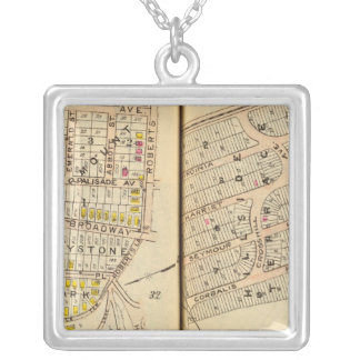 Yonkers, New York 8 Silver Plated Necklace
