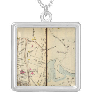 Yonkers, New York 9 Silver Plated Necklace