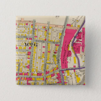 Yonkers New York Atlas 15 Cm Square Badge