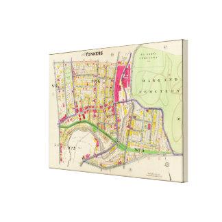 Yonkers New York Atlas Canvas Print