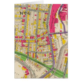 Yonkers New York Atlas Card