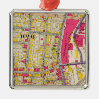 Yonkers New York Atlas Christmas Ornament