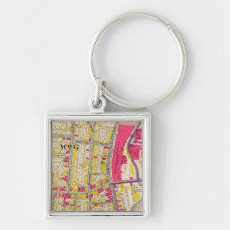 Yonkers New York Atlas Key Ring