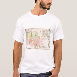Yonkers New York Atlas Map T-Shirt