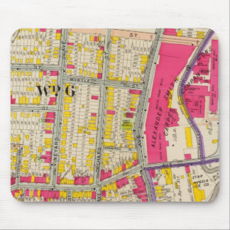 Yonkers New York Atlas Mouse Mat