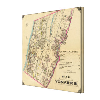 Yonkers, New York Canvas Print