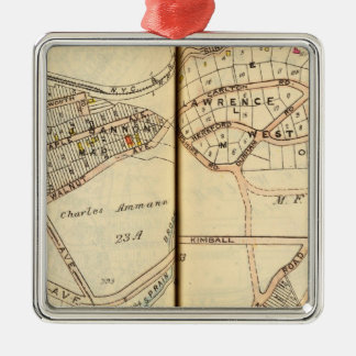 Yonkers, New York Christmas Ornament