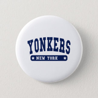 Yonkers New York College Style tee shirts 6 Cm Round Badge