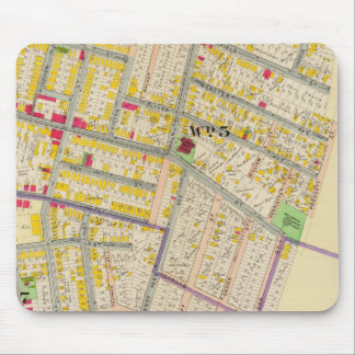 Yonkers New York Map Mouse Mat