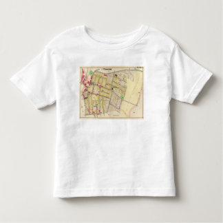 Yonkers New York Map Toddler T-Shirt