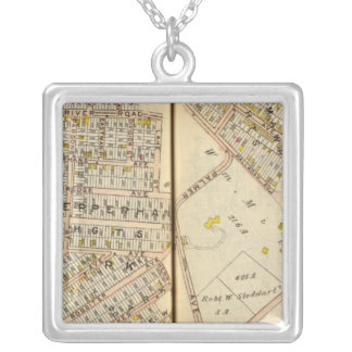 Yonkers, New York Silver Plated Necklace