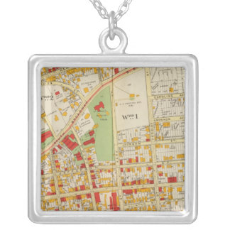 Yonkers New York Silver Plated Necklace