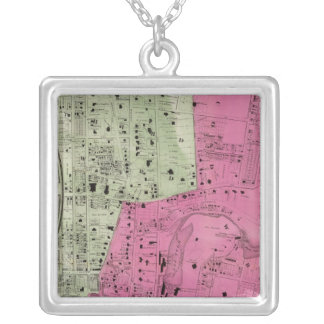 Yonkers, NY Atlas Silver Plated Necklace