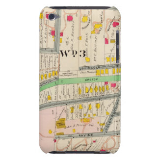 Yonkers NY Map Case-Mate iPod Touch Case