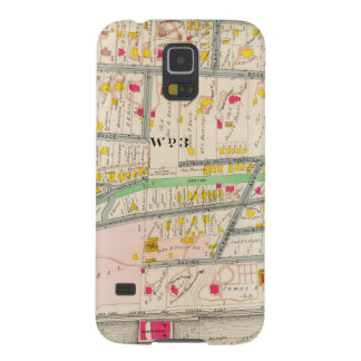 Yonkers NY Map Galaxy S5 Case
