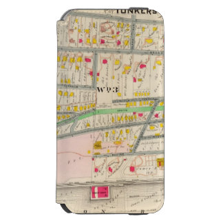 Yonkers NY Map Incipio Watson™ iPhone 6 Wallet Case