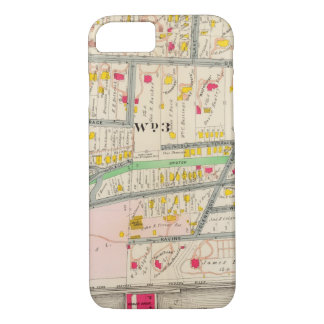 Yonkers NY Map iPhone 8/7 Case